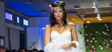 Desfile de vestidos de novia con tendencias para este 2015